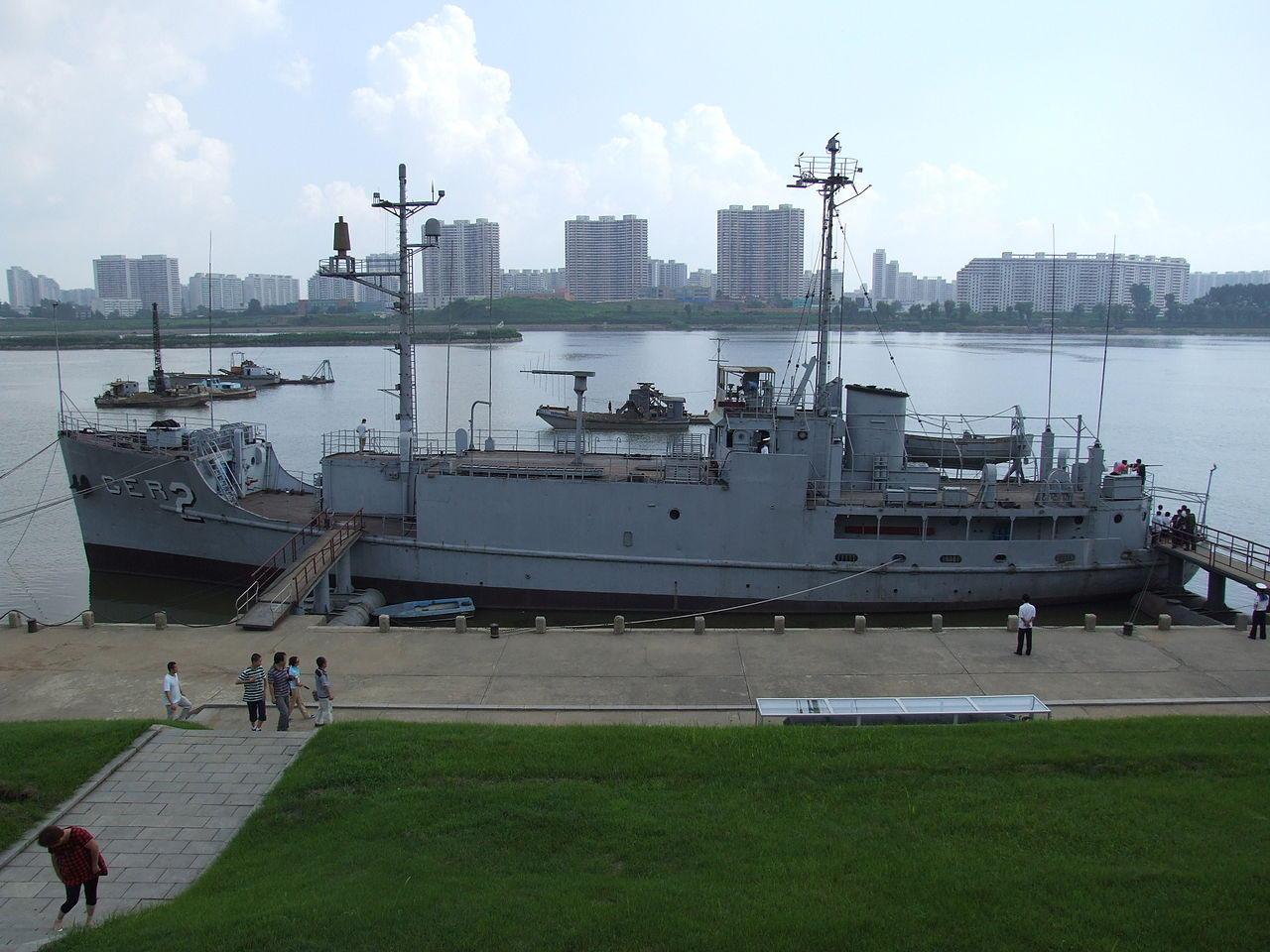 USS Pueblo (AGER-2) captured
