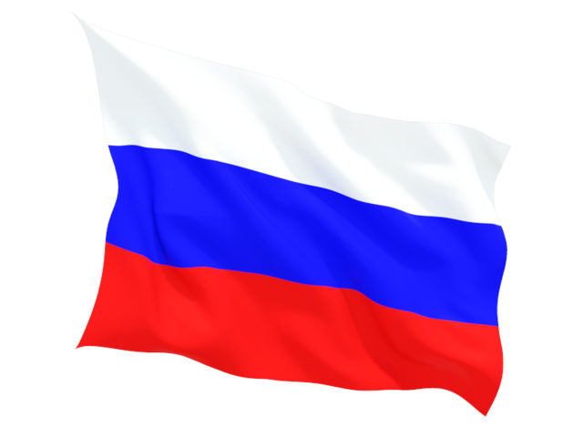 russia fluttering flag 640