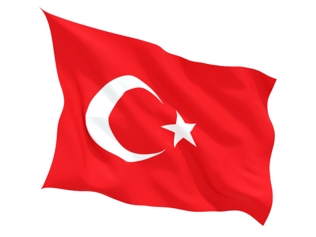 turkey fluttering flag 640